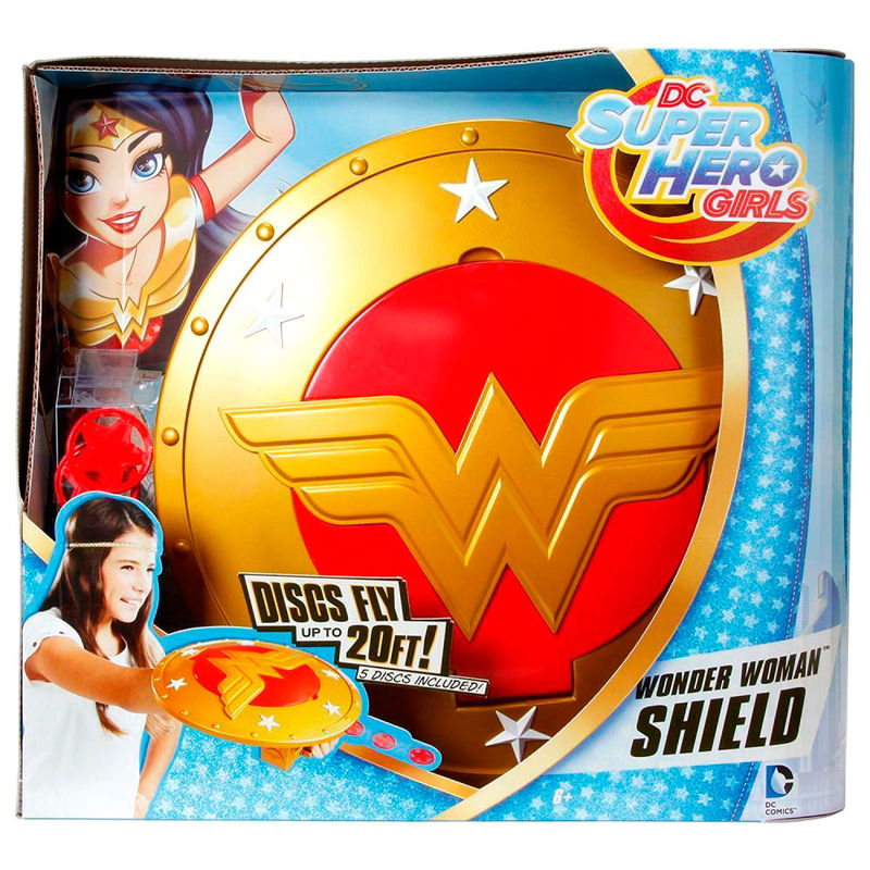 Escudo Wonder Woman Super Hero Girls DC Comics