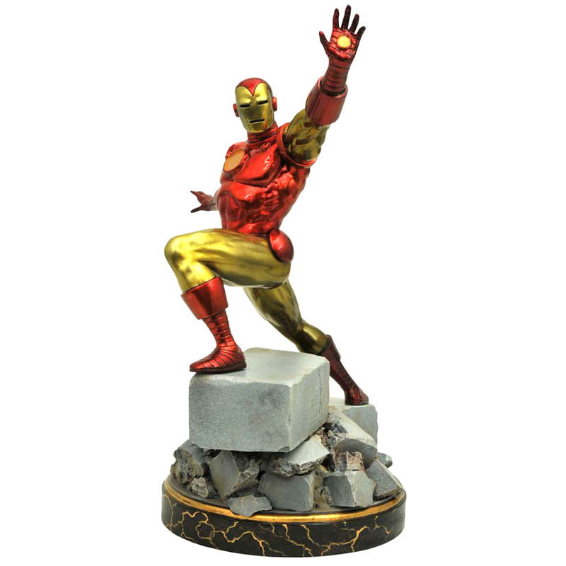 Estatua Iron Man Classic Marvel 35cm