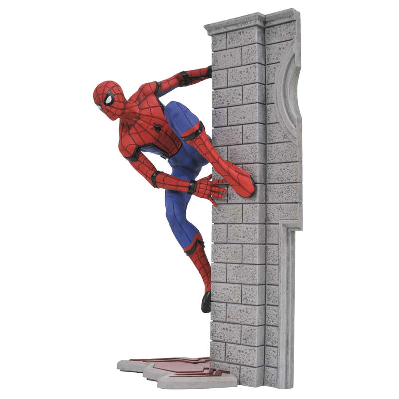 Estatua Spiderman Homecoming Marvel 25cm By Diamond Select