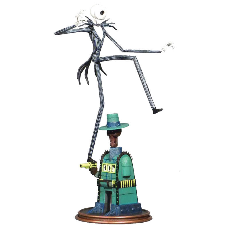 Figura diorama Oogies Lair Jack Pesadilla Antes de Navidad 35cm