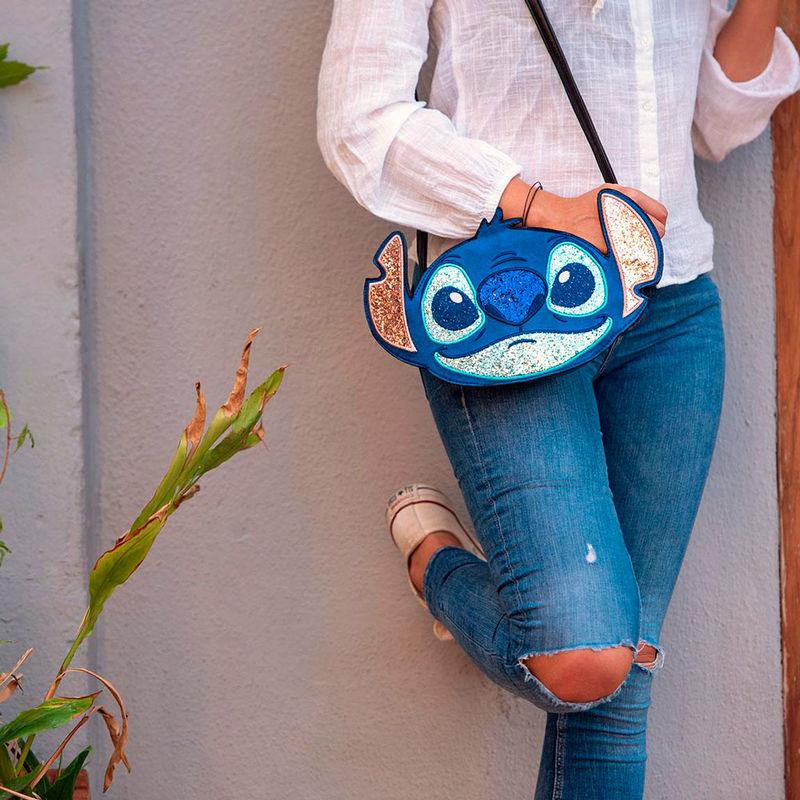 Bolso bandolera 3D Stitch Disney