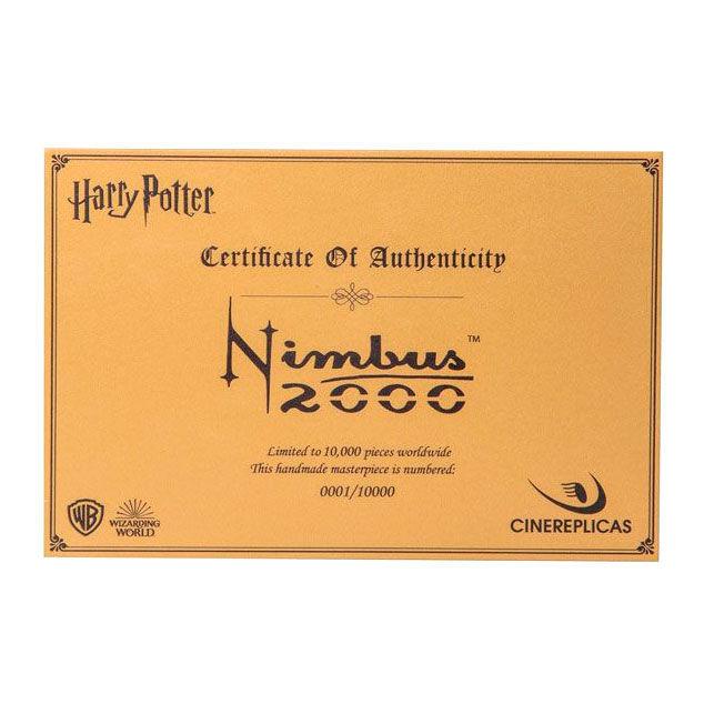 Escoba Nimbus 2000 Harry Potter