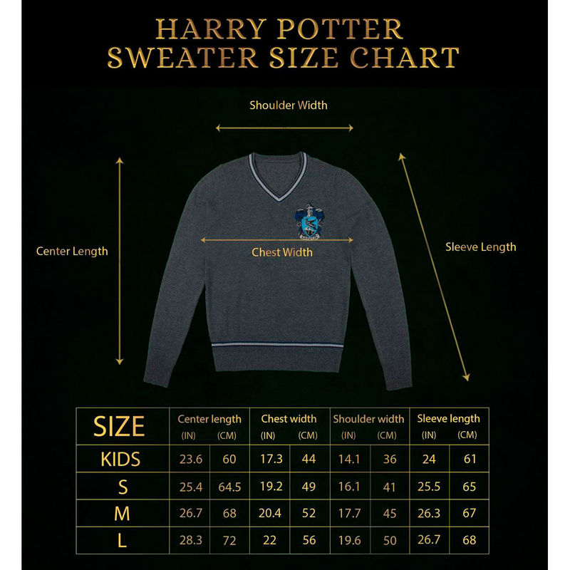 Jersey Ravenclaw Harry Potter
