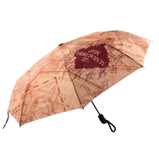 Paraguas plegable Mapa del Merodeador Harry Potter
