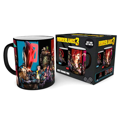 Taza termica Borderlands 3
