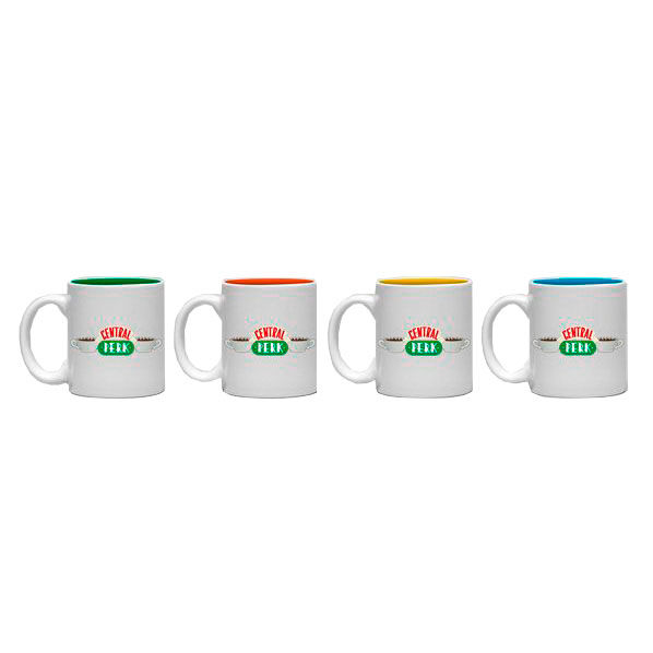 Set 4 tazas espresso Central Perk Friends