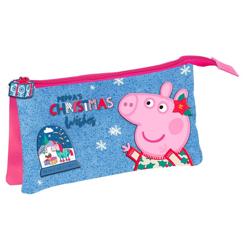 Portatodo Peppa Pig Glitter triple