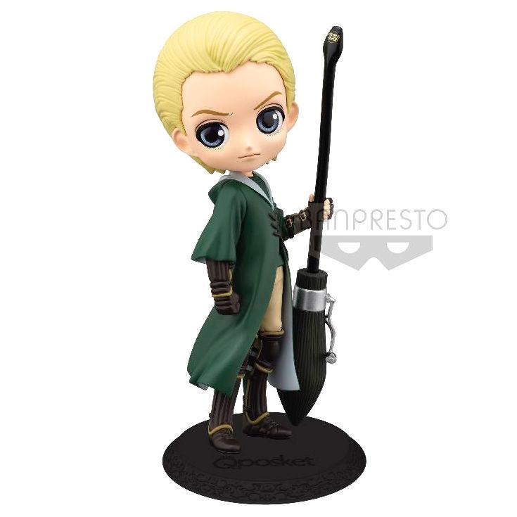 Figura Draco Malfoy Quidditch Harry Potter Q posket A 14cm