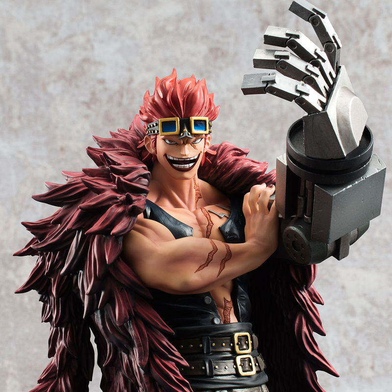 Figura Eustass Captain Kid Excellent Model P.O.P Limited Edition One Piece 25cm