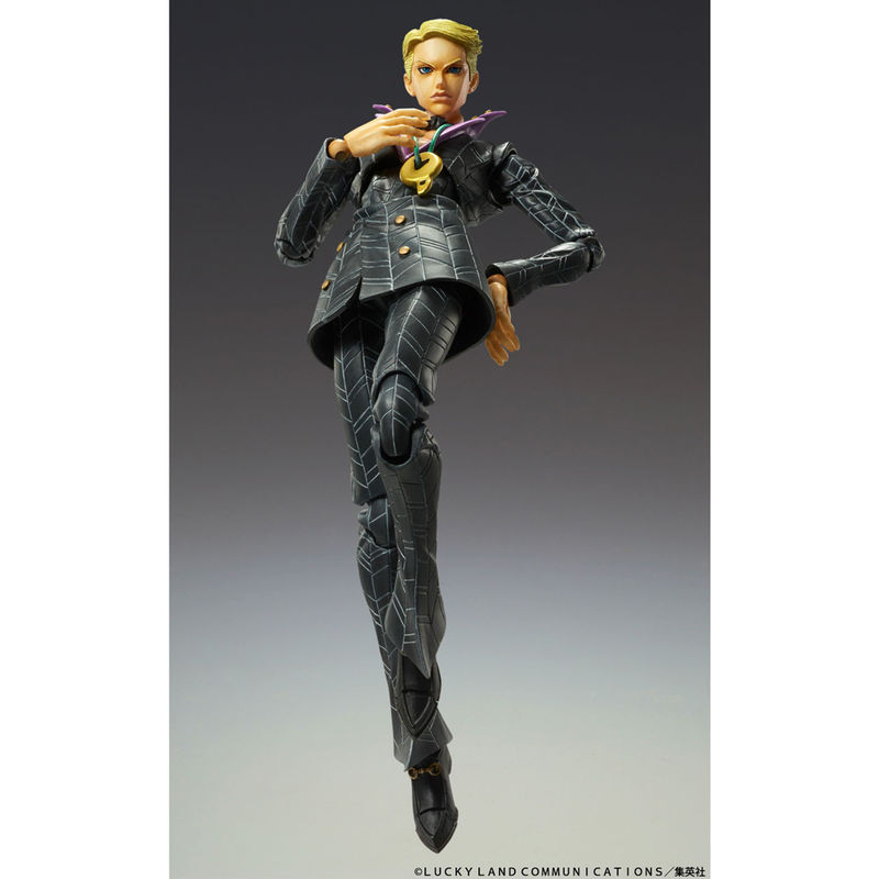 Figura articulada Super Action Chozocado Prosciutto Jojos Bizarre Adventure 15cm