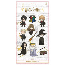 Set 11 imanes Personajes Harry Potter