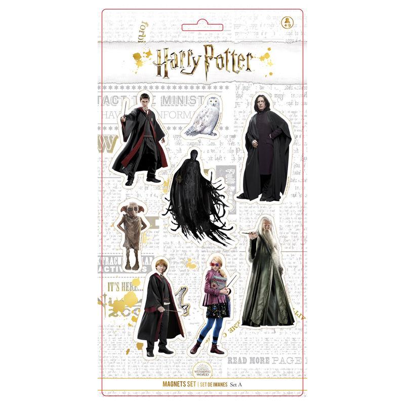 Set 8 imanes Personajes Harry Potter 8435450232466