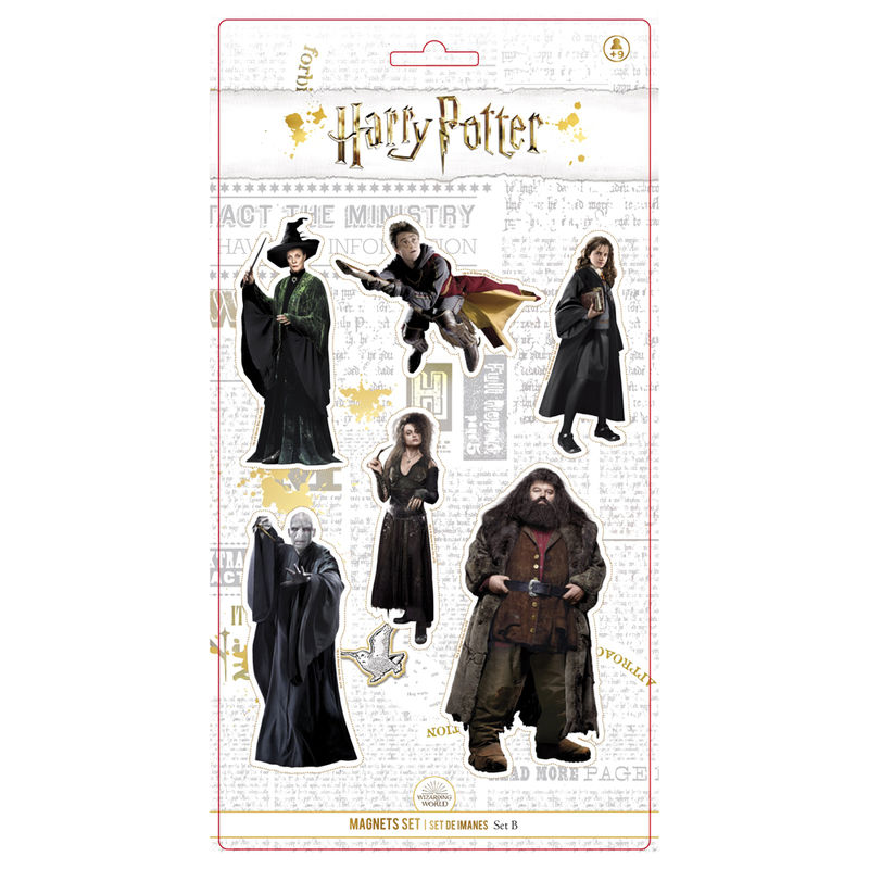 Set 6 imanes Personajes Harry Potter
