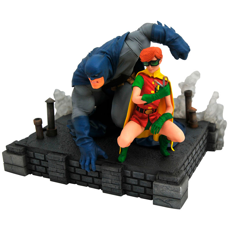 Estatua Batman & Robin The Dark Knight Returns DC Comics 20cm