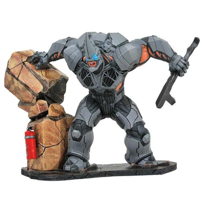 Figura Rhino Spiderman Marvel Video Game Deluxe Gallery 25cm