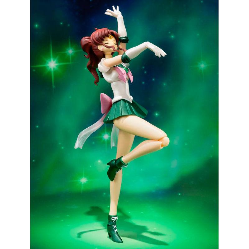 Figura articulada Super Sailor Jupiter Sailor Moon 15cm