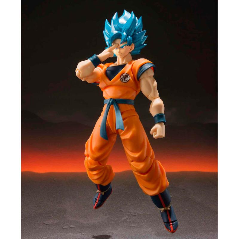 Figura Super Saiyan God Super Saiyan Son Goku Dragon Ball Super Broly 14cm