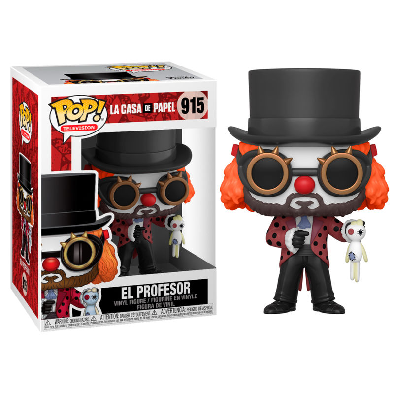 Funko POP o Figura POP La Casa de Papel Professor O Clown