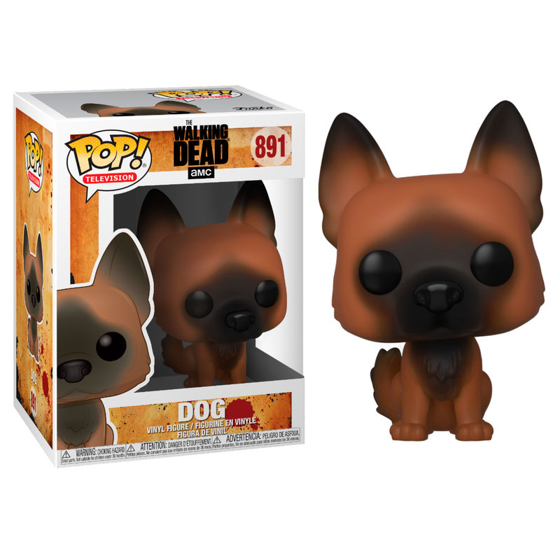 Funko POP o Figura POP Walking Dead Perro