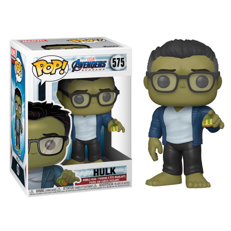 Funko POP o Figura POP Marvel Vengadores Endgame Hulk con Taco