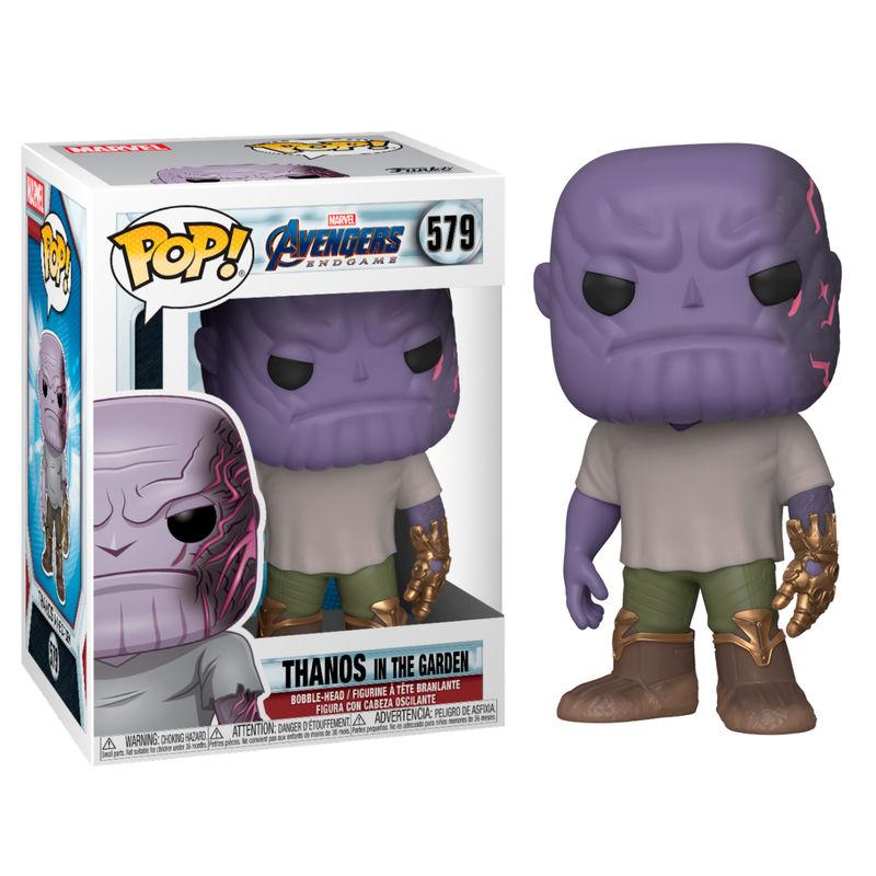 Funko POP o Figura POP Marvel Vengadores Endgame Casual Thanos con Guantelete