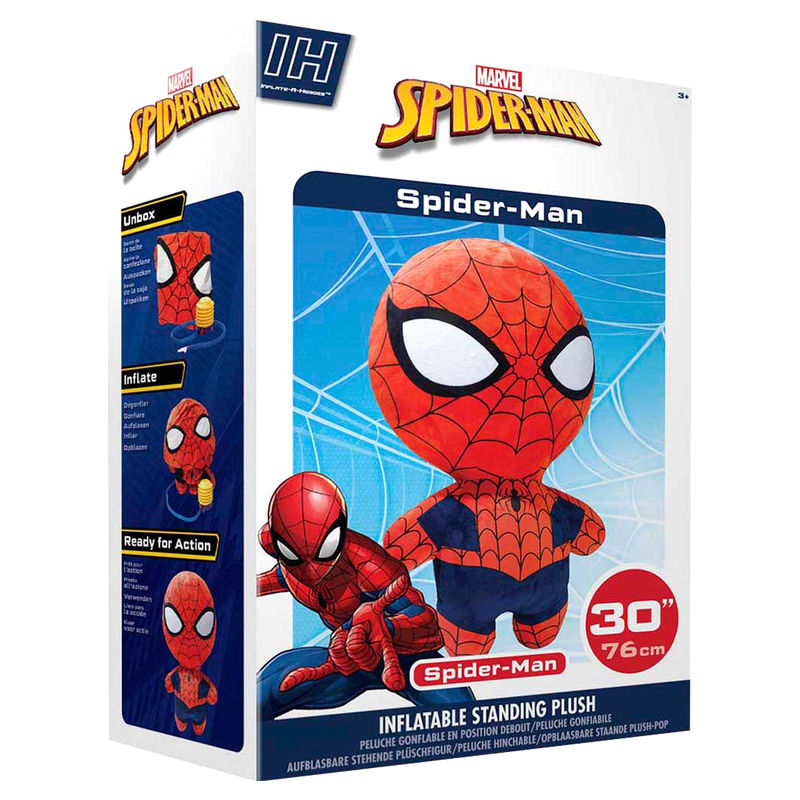 Peluche inflable Spiderman Marvel 76cm