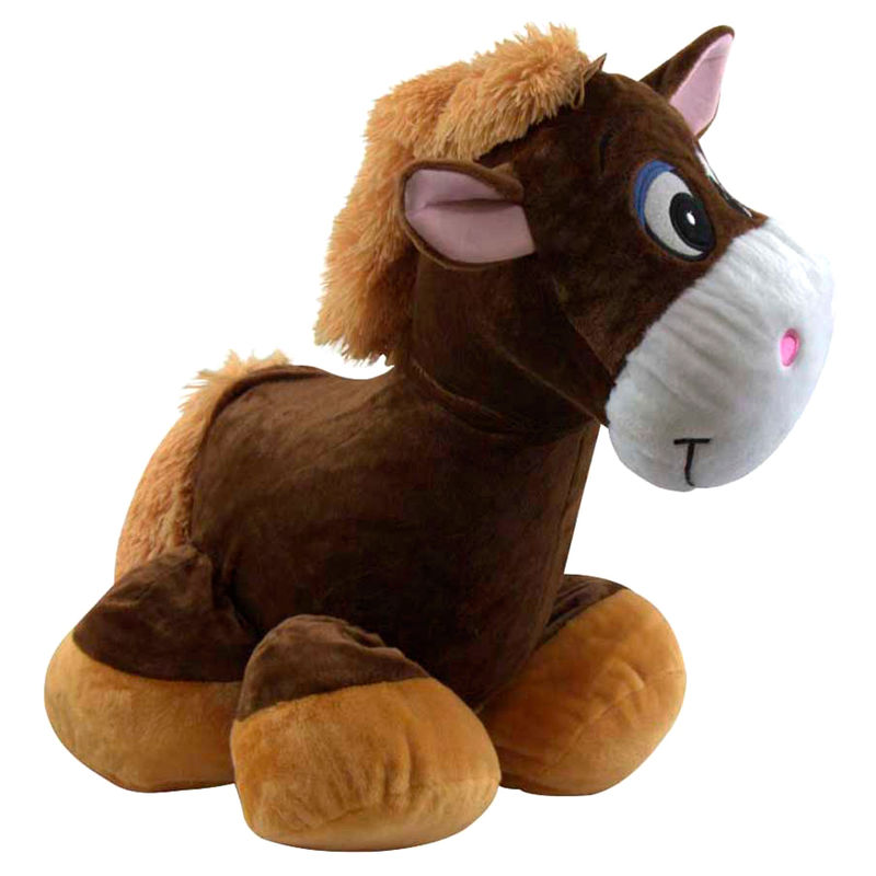 Peluche inflable Ride on Caballo