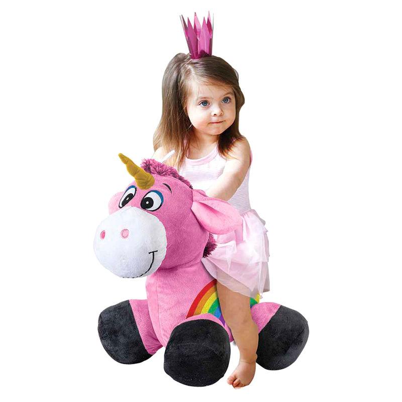 Peluche inflable Ride on Unicornio