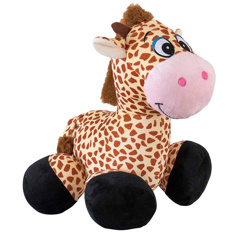 Peluche inflable Ride on Jirafa