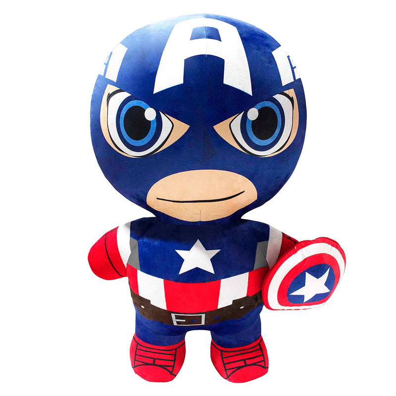 Peluche inflable Capitan America Vengadores Marvel 76cm