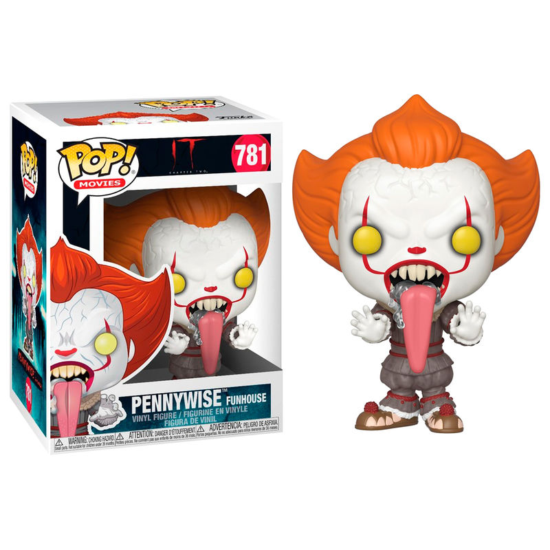 Figura POP IT Chapter 2 Pennywise with Dog Tongue 889698406314