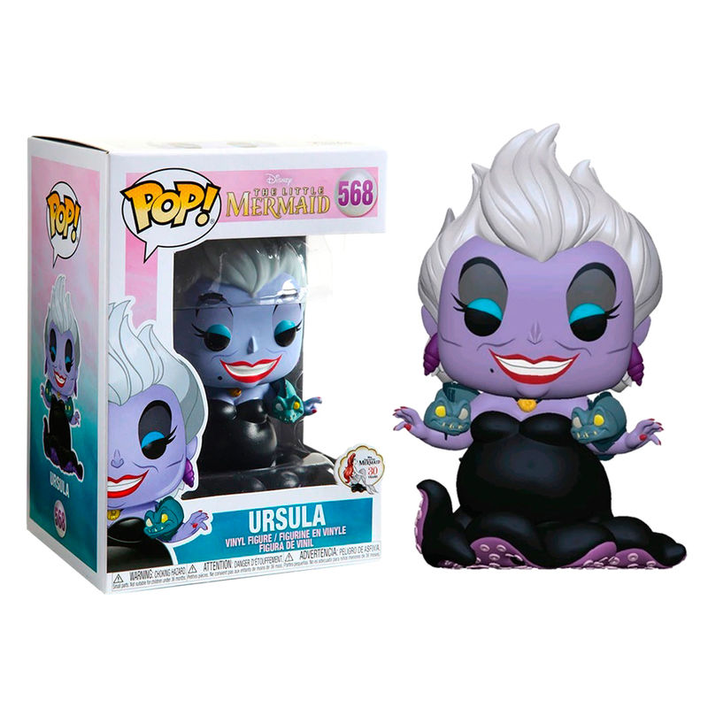 Figura POP Disney La Sirenita Ursula with Eels