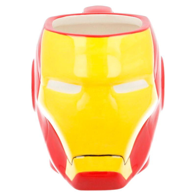 Taza 3D Cabeza Iron Man Marvel