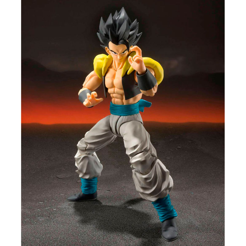 Figura Super Saiyan God Super Saiyan Gogeta Dragon Ball Super Broly 14cm