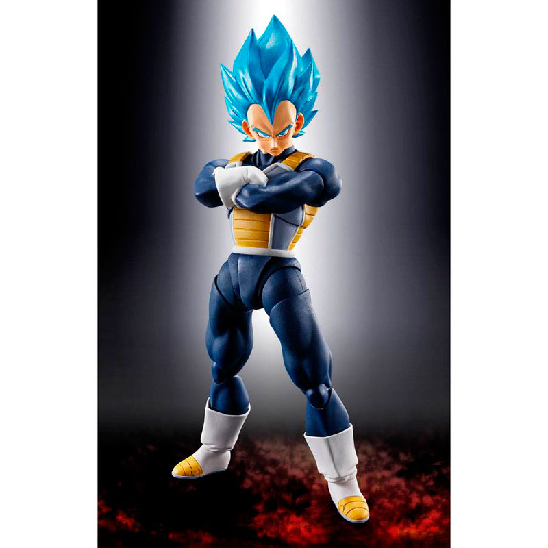 Figura Super Saiyan God Super Saiyan Vegeta Dragon Ball Super Broly 14cm