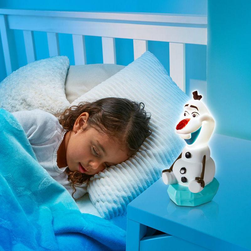 Linterna luz de noche Olaf Frozen Disney