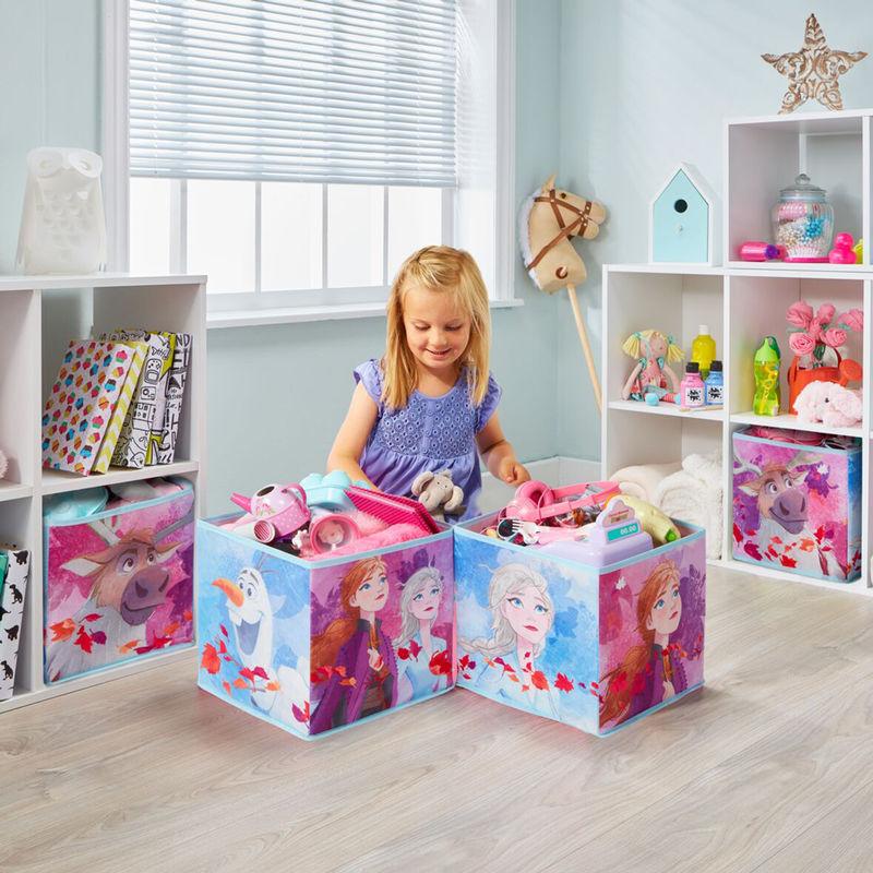 Set 4 cubos jugueteros Frozen Disney