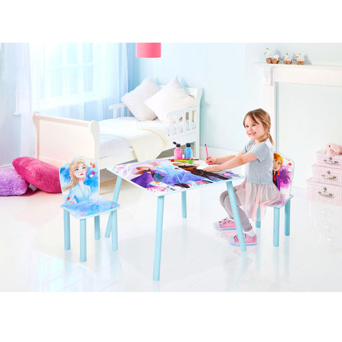 Surprising Disney Frozen Table And 2 Chairs Set Caraccident5 Cool Chair Designs And Ideas Caraccident5Info