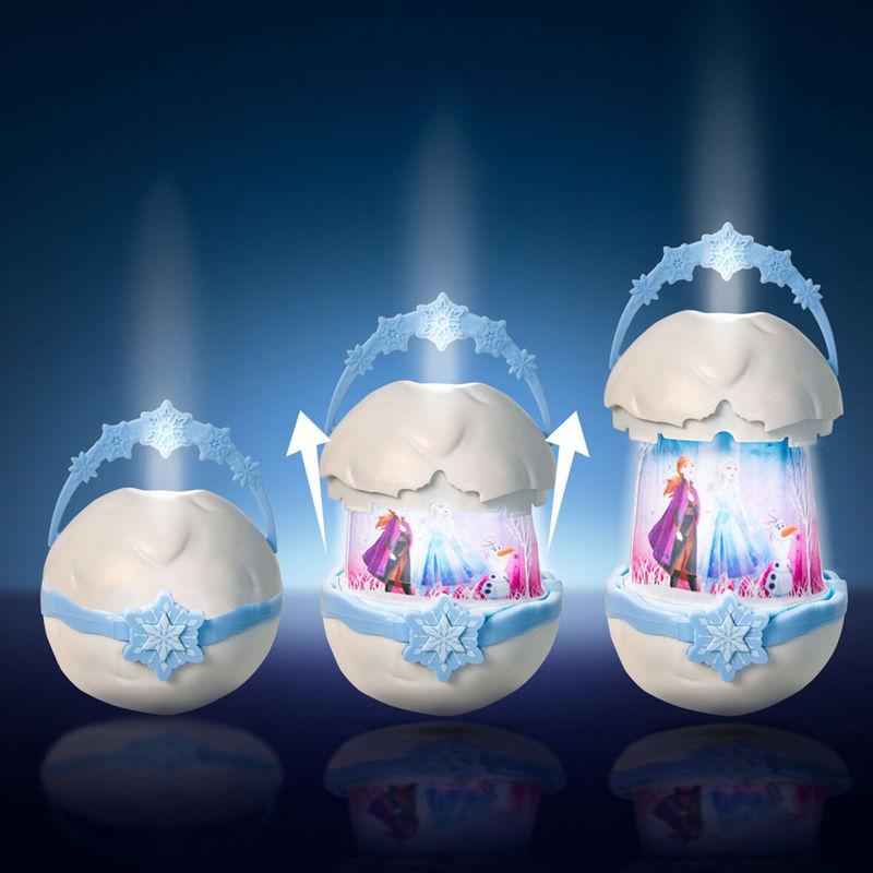 Farol luz de noche linterna desplegable Frozen Disney