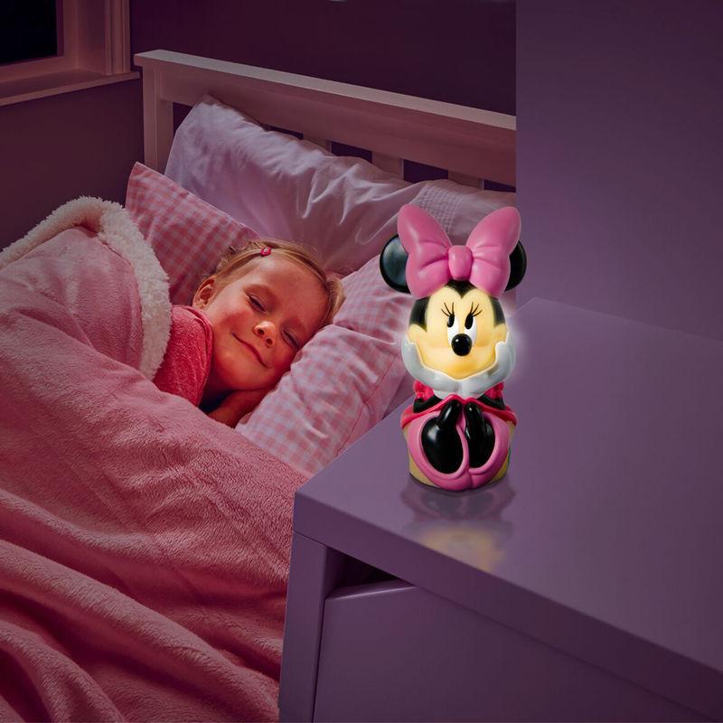 Linterna luz de noche Minnie Disney