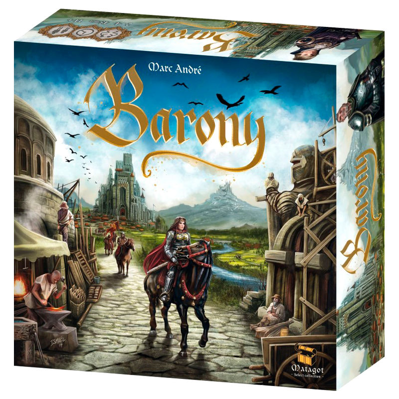 Barony board game