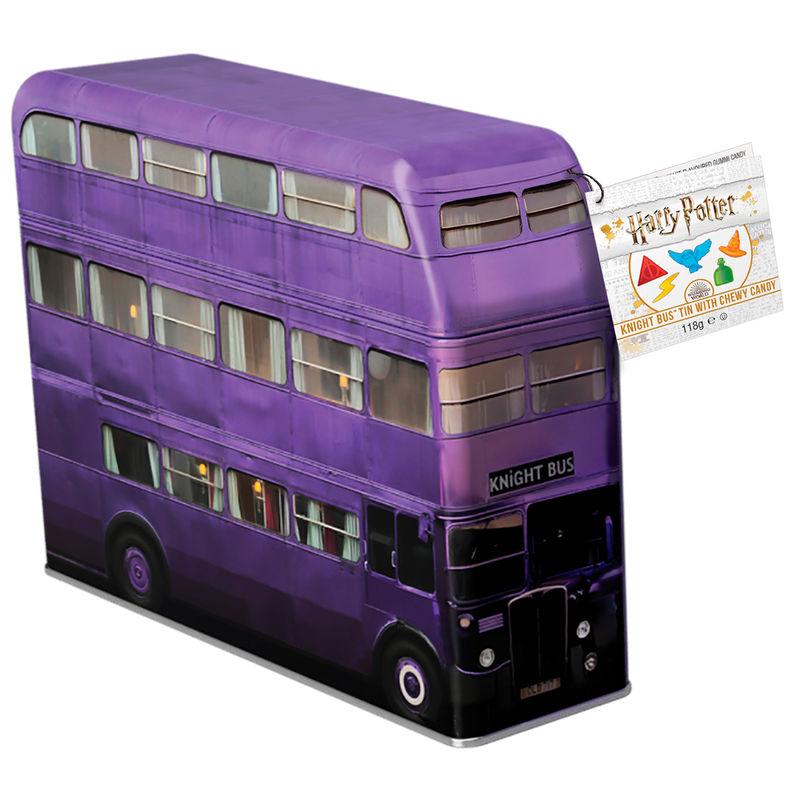 Caja metal hucha golosinas Autobus Noctambulo Harry Potter