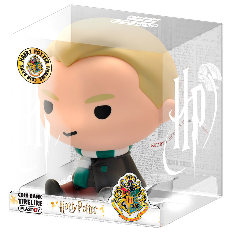 Figura hucha Chibi Draco Malfoy Harry Potter 16cm
