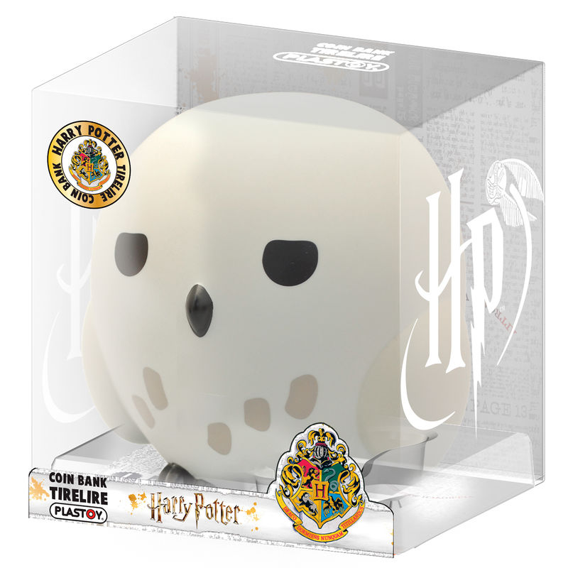 Figura hucha Chibi Hedwig Harry Potter 16cm