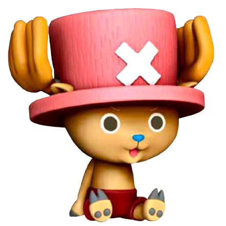 One Piece Chopper Chibi Money Box Figure 16cm