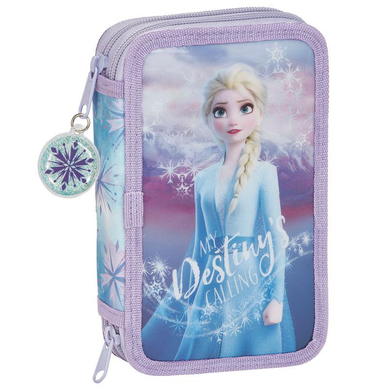 Plumier Frozen 2 Disney doble 28pzs