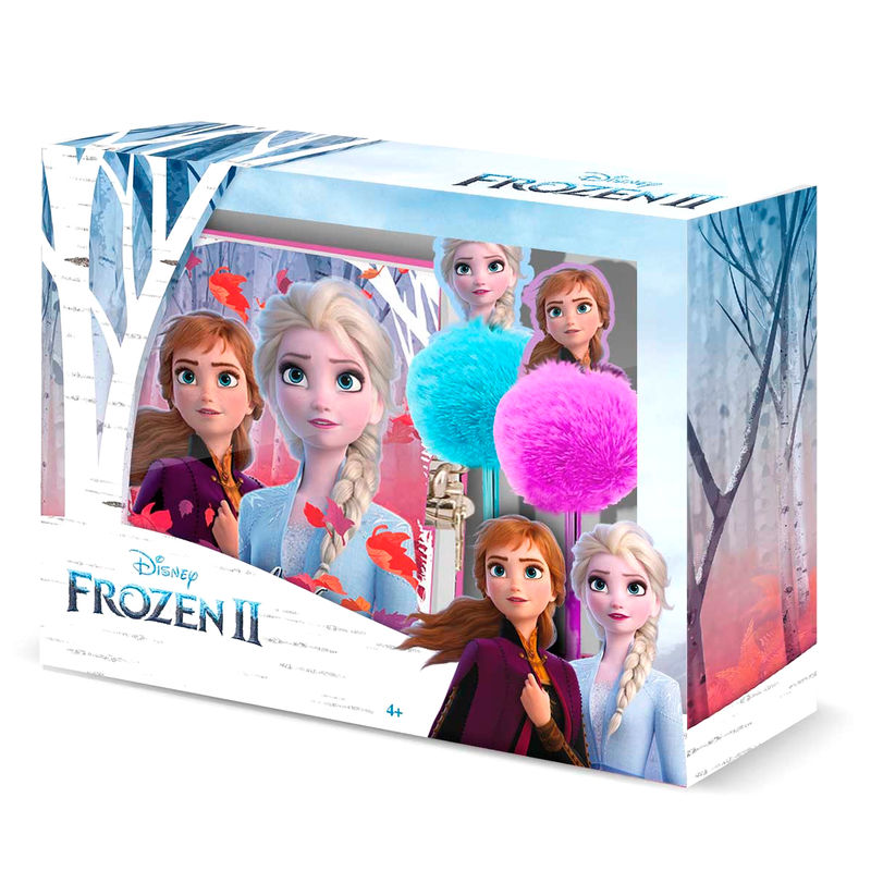 Set diario + boligrafo Frozen 2 Disney