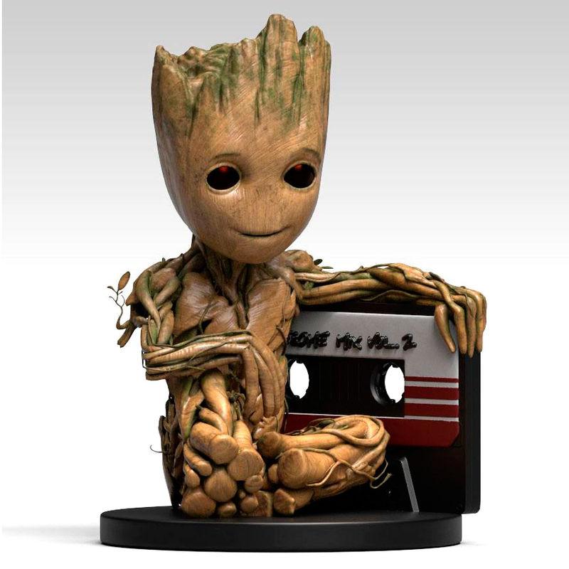 Figura hucha Baby Groot Cassette Guardianes de la Galaxia 2 Marvel*
