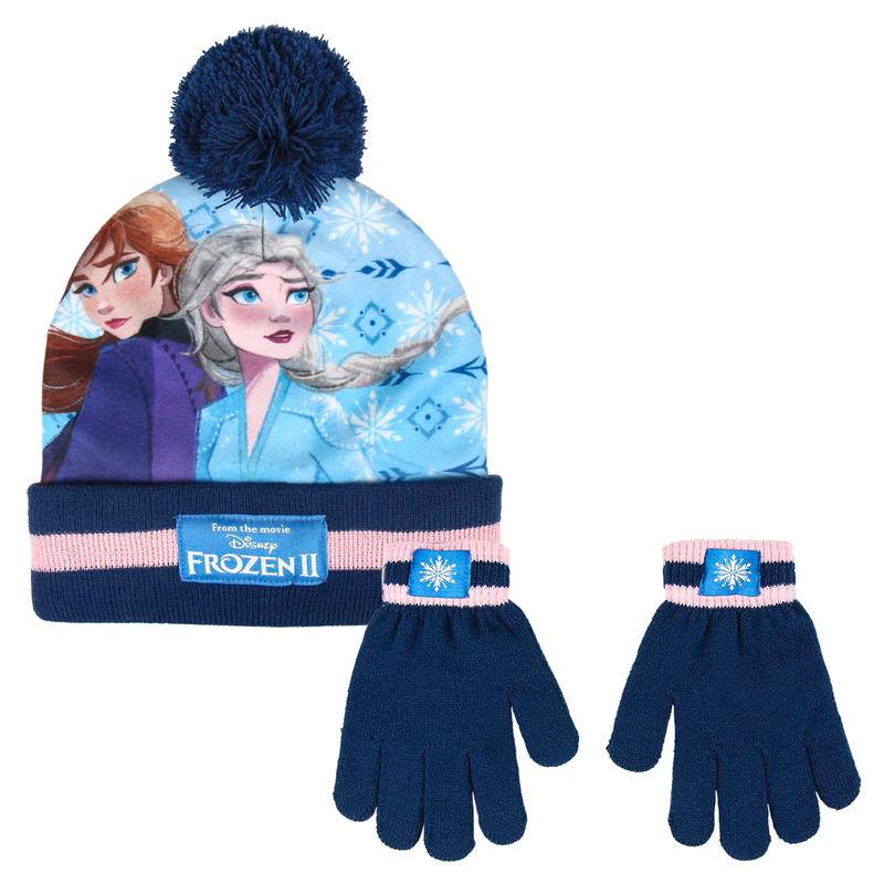 Conjunto gorro guantes Frozen Disney