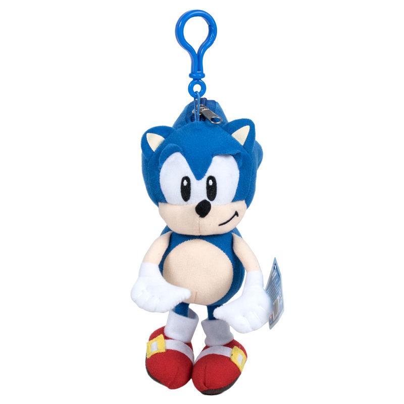 Sonic The Hedgehog Plush Keychain 20cm Ociostock Wholesaler Distributor